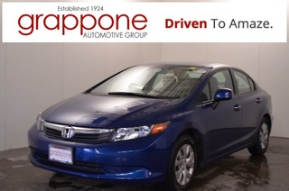 Certified Pre-Owned 2012 Honda Civic LX
